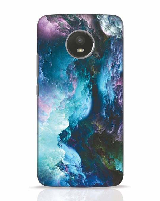 Shop Cloudy Moto E4 Plus Mobile Cover-Front