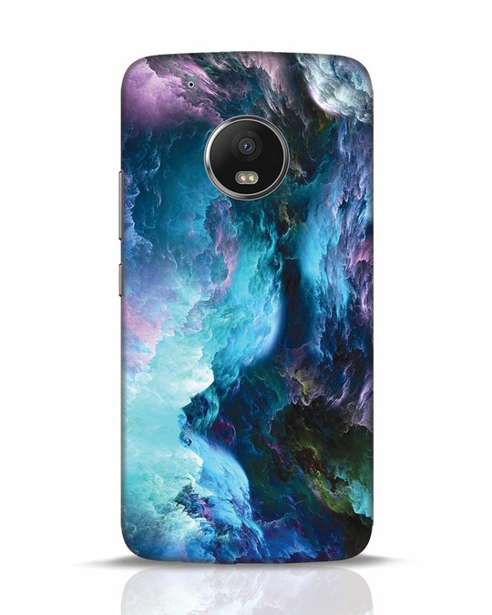Shop Cloudy Moto G5 Plus Mobile Cover-Front