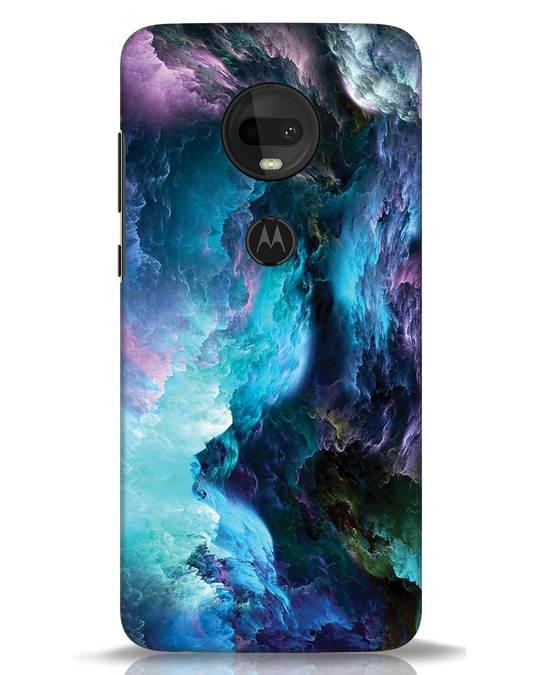 Shop Cloudy Moto G7 Mobile Cover-Front