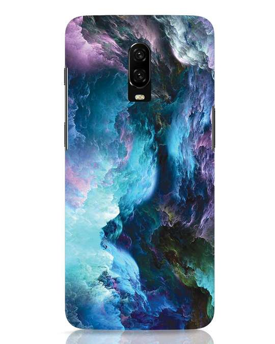 Shop Cloudy OnePlus 6T Mobile Cover-Front