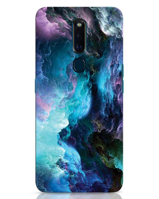Shop Cloudy Oppo F11 Pro Mobile Cover-Front