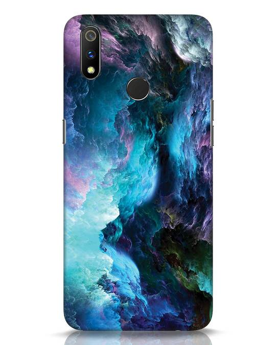 Shop Cloudy Realme 3 Pro Mobile Cover-Front
