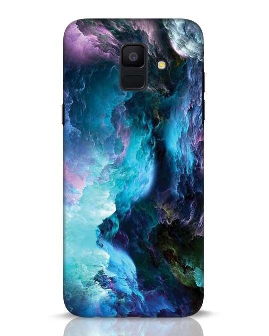 Shop Cloudy Samsung Galaxy A6 2018 Mobile Cover-Front