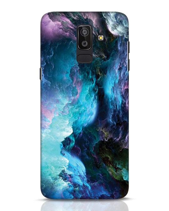 Shop Cloudy Samsung Galaxy J8 Mobile Cover-Front