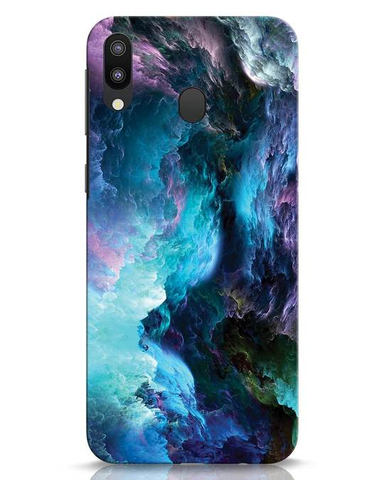 Shop Cloudy Samsung Galaxy M20 Mobile Cover-Front