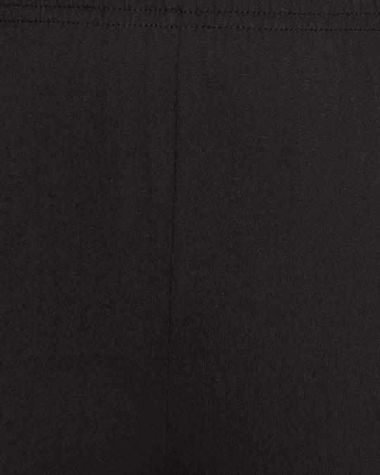 Shop Chic Basic Shirt & Pyjama In Black
