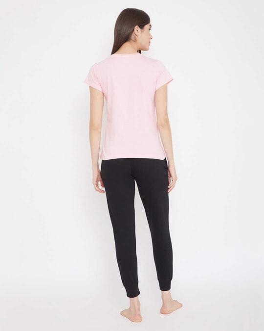 Shop Cotton Chest Printed Top & Pyjama Set-Design