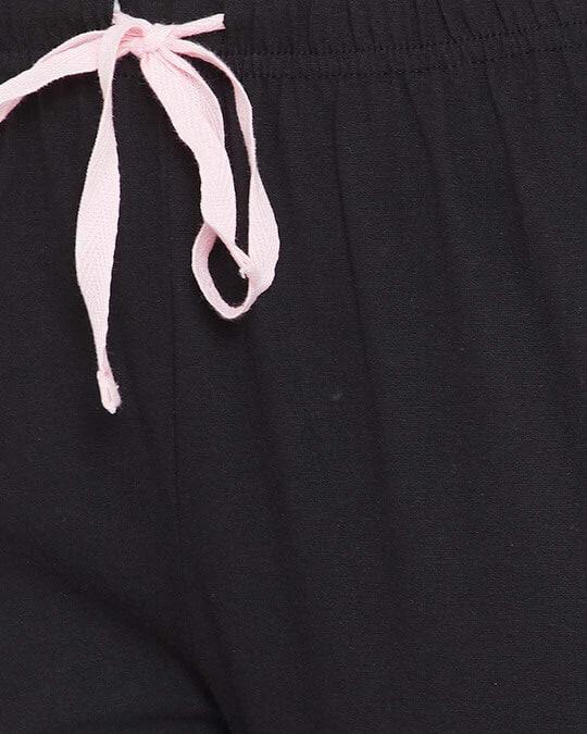 Shop Cotton Chest Printed Top & Pyjama Set