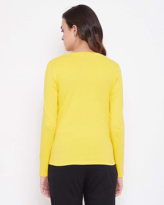 Shop Cotton Chic Basic Full Sleeve T Shirt-Design
