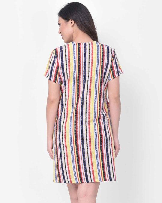 Shop Clovia Crepe Printed Short Sleepshirt-Design