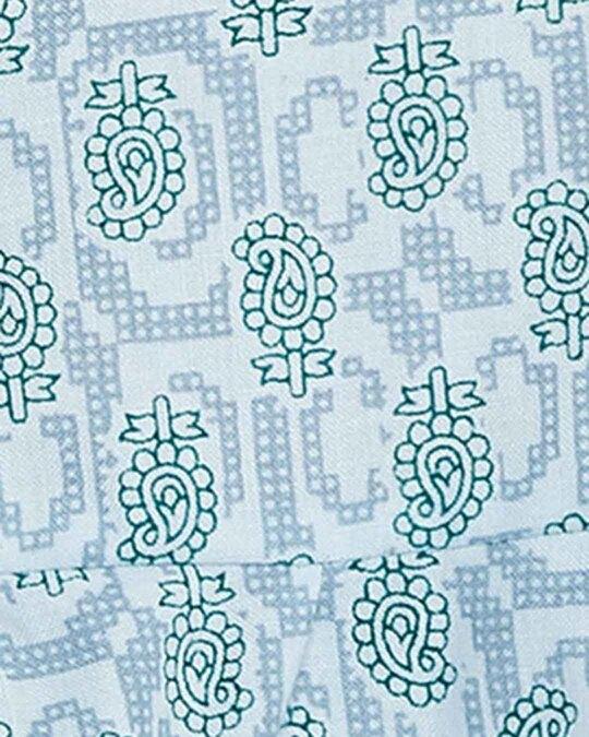 Shop Print Me Pretty Top & Cropped Pyjama Set-Full