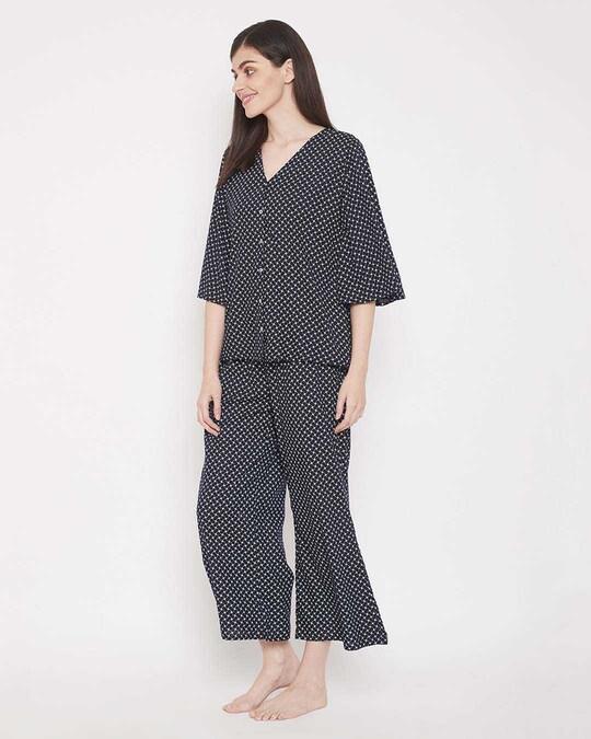 Shop Print Me Pretty Top & Pyjama Set-Design