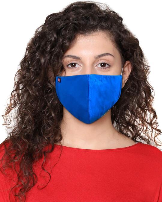 Shop Reusable 3 Layer Duckbill Fit Face Mask-Front