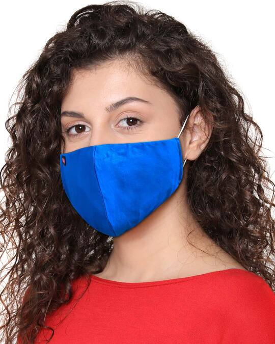 Shop Reusable 3 Layer Duckbill Fit Face Mask-Back