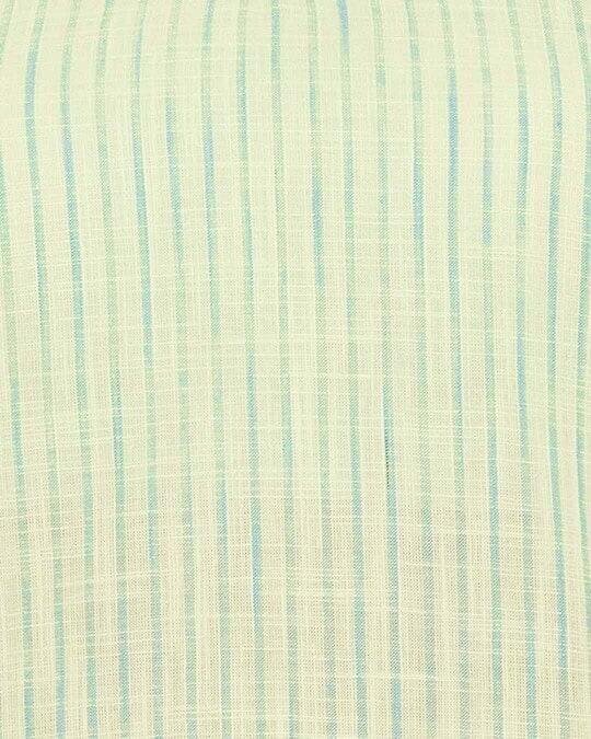 Shop Sassy Stripes Cami Top & Shorts In Lemon Yellow   100% Cotton