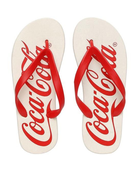 Shop Coca-Cola Printed Men's Flip-flop-Front