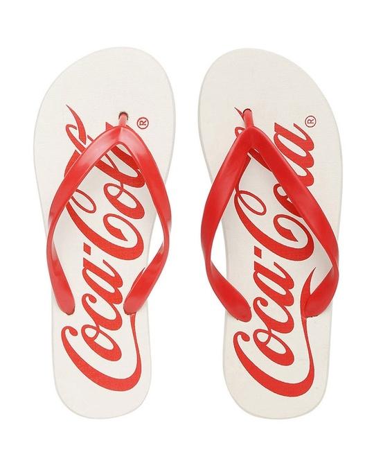 Shop Coca-Cola Printed Women's Flip-flop-Front