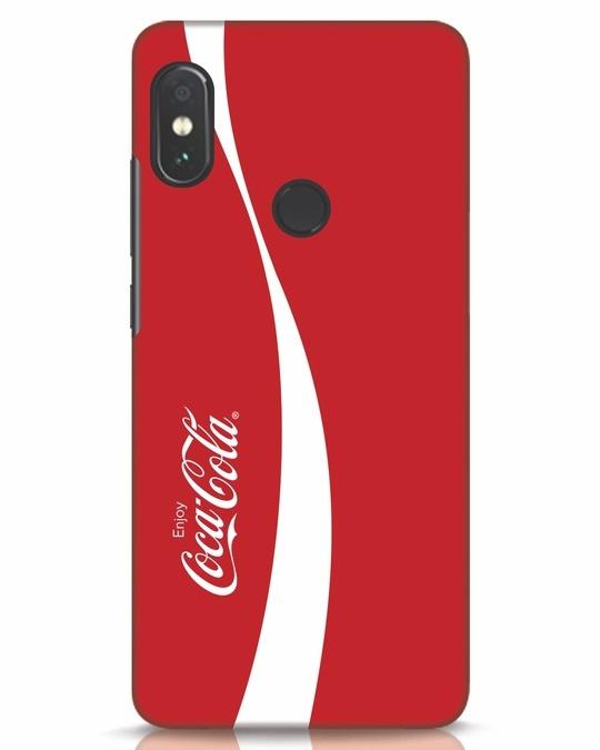 Shop Coca-Cola Ribbon Xiaomi Redmi Note 5 Pro Mobile Cover-Front
