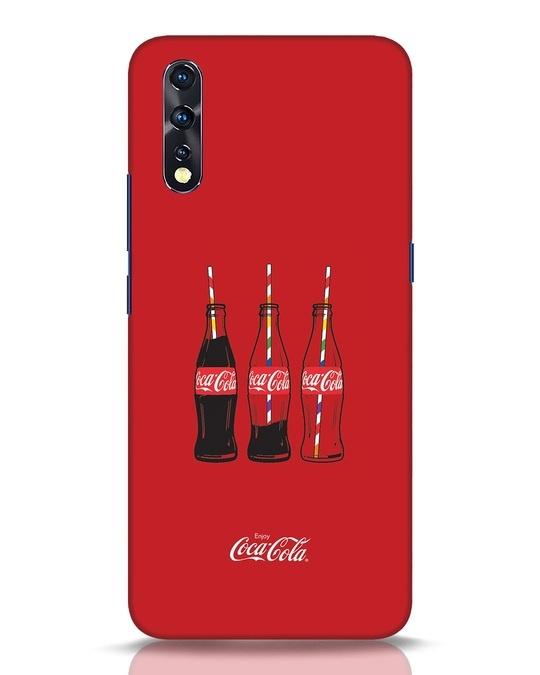Shop Coca-Cola Three Bottle Vivo Z1x Mobile Cover-Front
