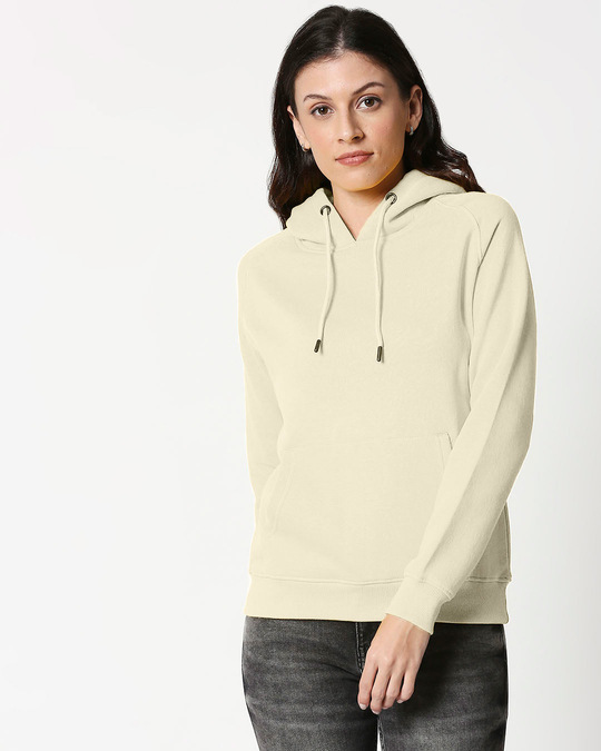 Shop Coconut Milk Basic Hoodie Sweatshirt-Front
