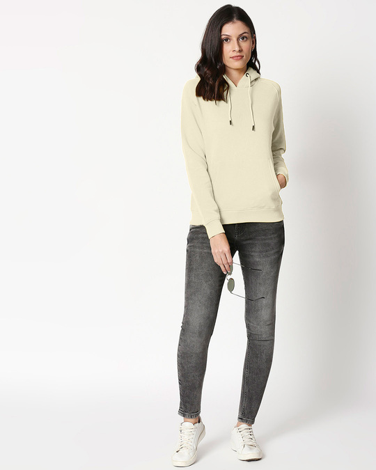 Shop Coconut Milk Basic Hoodie Sweatshirt