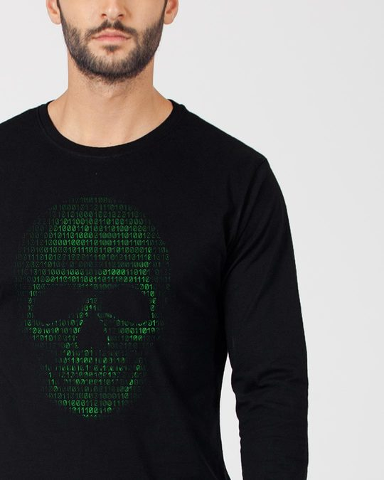 Shop Code Till You Die Full Sleeve T-Shirt-Front