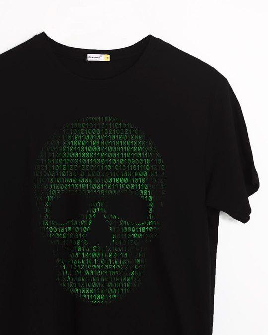 Shop Code Till You Die Half Sleeve T-Shirt-Front