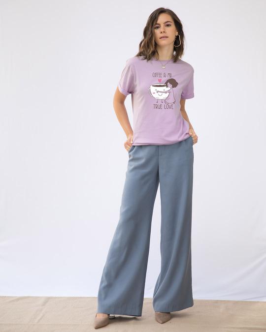 Shop Coffee Is My Love Boyfriend T-Shirt-Design