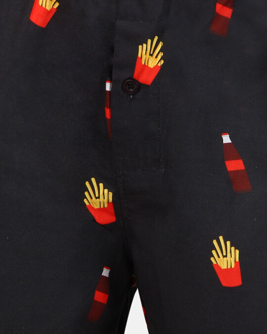 Shop Smugglerz Cola & Fries Boxer Black