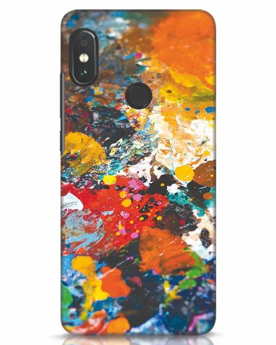 Shop Color Palette Xiaomi Redmi Note 5 Pro Mobile Cover-Front