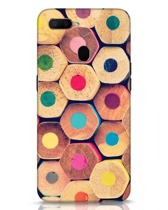 Shop Color Pencil Oppo A5s Mobile Cover-Front