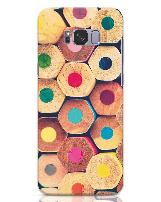 Shop Color Pencil Samsung Galaxy S8 Plus Mobile Cover-Front