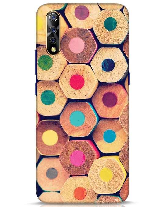 Shop Color Pencil Vivo S1 Mobile Cover-Front