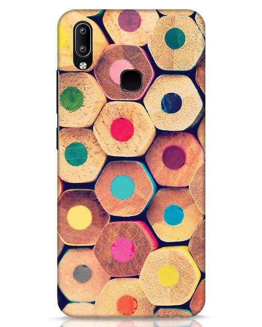 Shop Color Pencil Vivo Y91 Mobile Cover-Front