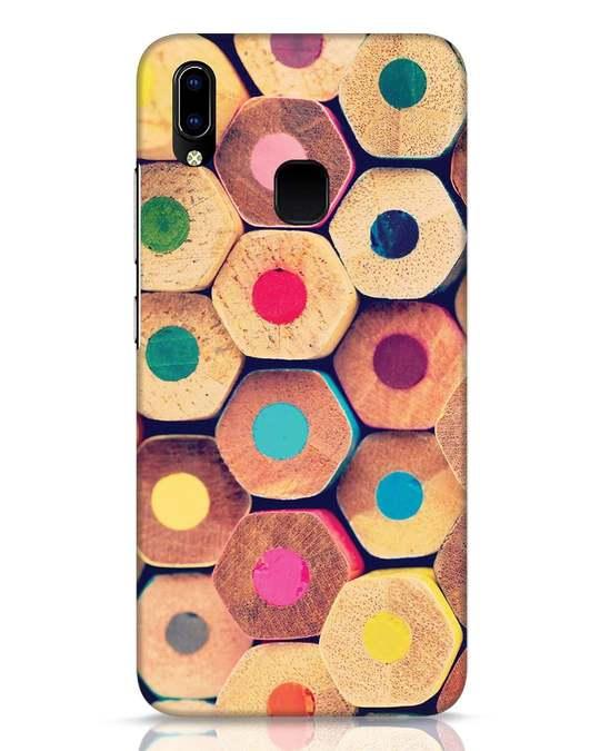 Shop Color Pencil Vivo Y93 Mobile Cover-Front