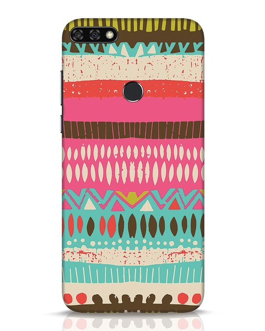 Shop Color Pile Huawei Honor 7C Mobile Cover-Front
