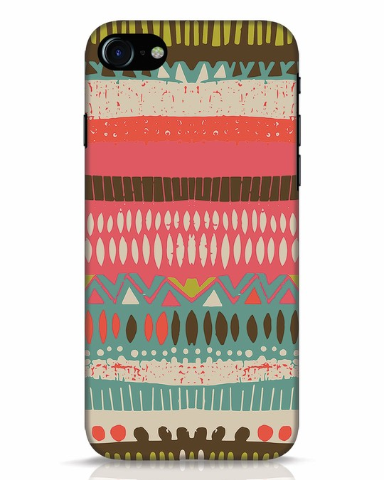 Shop Color Pile iPhone 7 Mobile Cover-Front