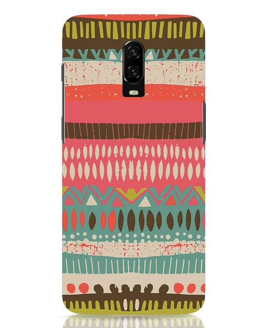 Shop Color Pile OnePlus 6T Mobile Cover-Front