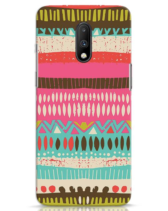 Shop Color Pile OnePlus 7 Mobile Cover-Front