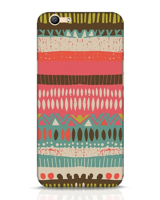 Shop Color Pile Oppo F1s Mobile Cover-Front