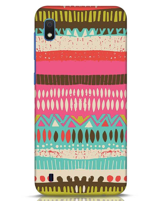 Shop Color Pile Samsung Galaxy A10 Mobile Cover-Front