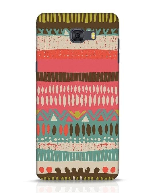 Shop Color Pile Samsung Galaxy C9 Pro Mobile Cover-Front