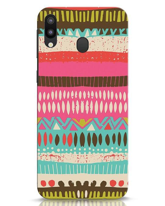 Shop Color Pile Samsung Galaxy M20 Mobile Cover-Front