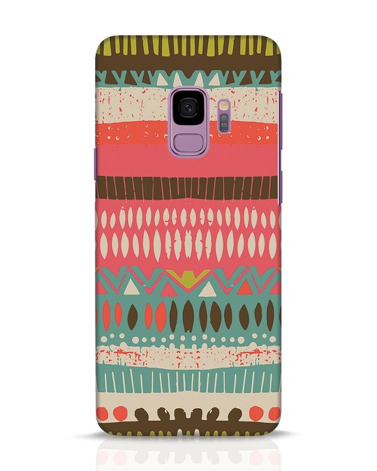 Shop Color Pile Samsung Galaxy S9 Mobile Cover-Front