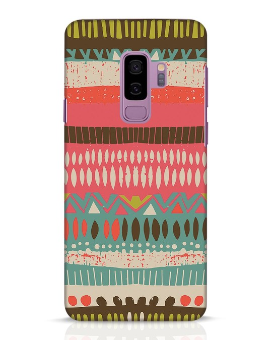 Shop Color Pile Samsung Galaxy S9 Plus Mobile Cover-Front