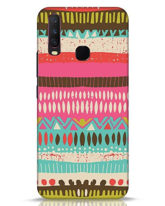 Shop Color Pile Vivo Y17 Mobile Cover-Front
