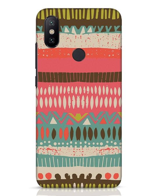 Shop Color Pile Xiaomi Mi A2 Mobile Cover-Front