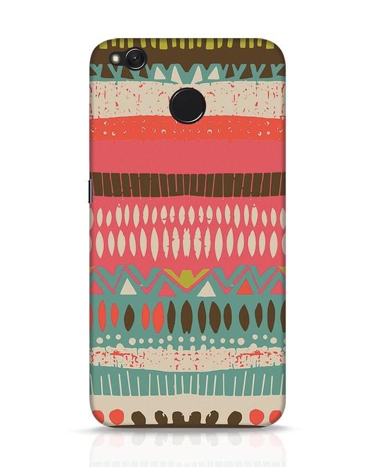 Shop Color Pile Xiaomi Redmi 4 Mobile Cover-Front