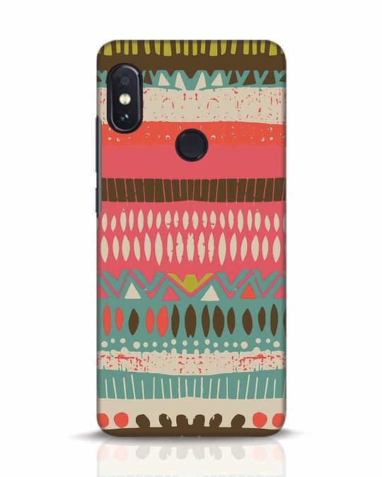 Shop Color Pile Xiaomi Redmi Note 5 Pro Mobile Cover-Front