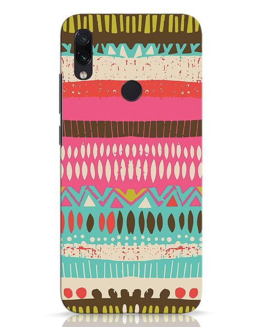Shop Color Pile Xiaomi Redmi Note 7 Mobile Cover-Front